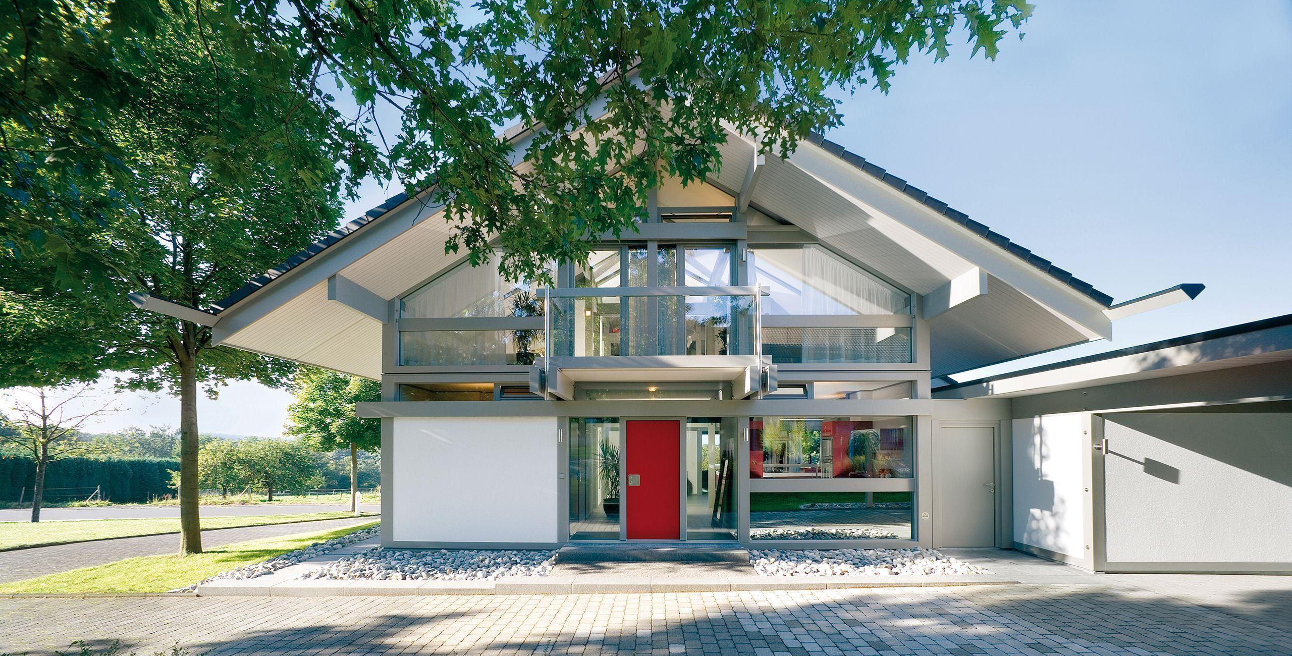 ▷ Großer Musterhauspark im Westerwald | Das HUF Dorf