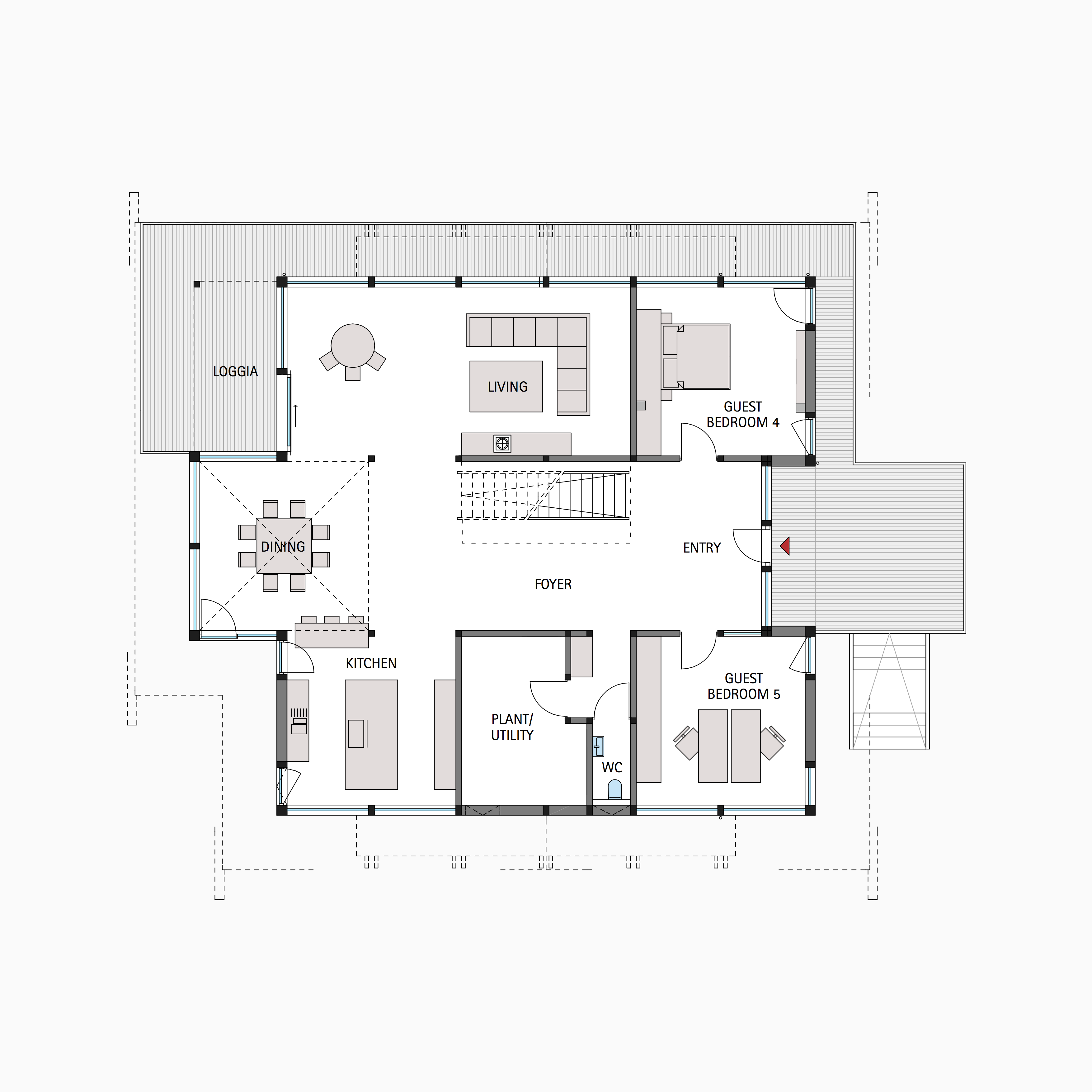 London huf haus for Haus plan